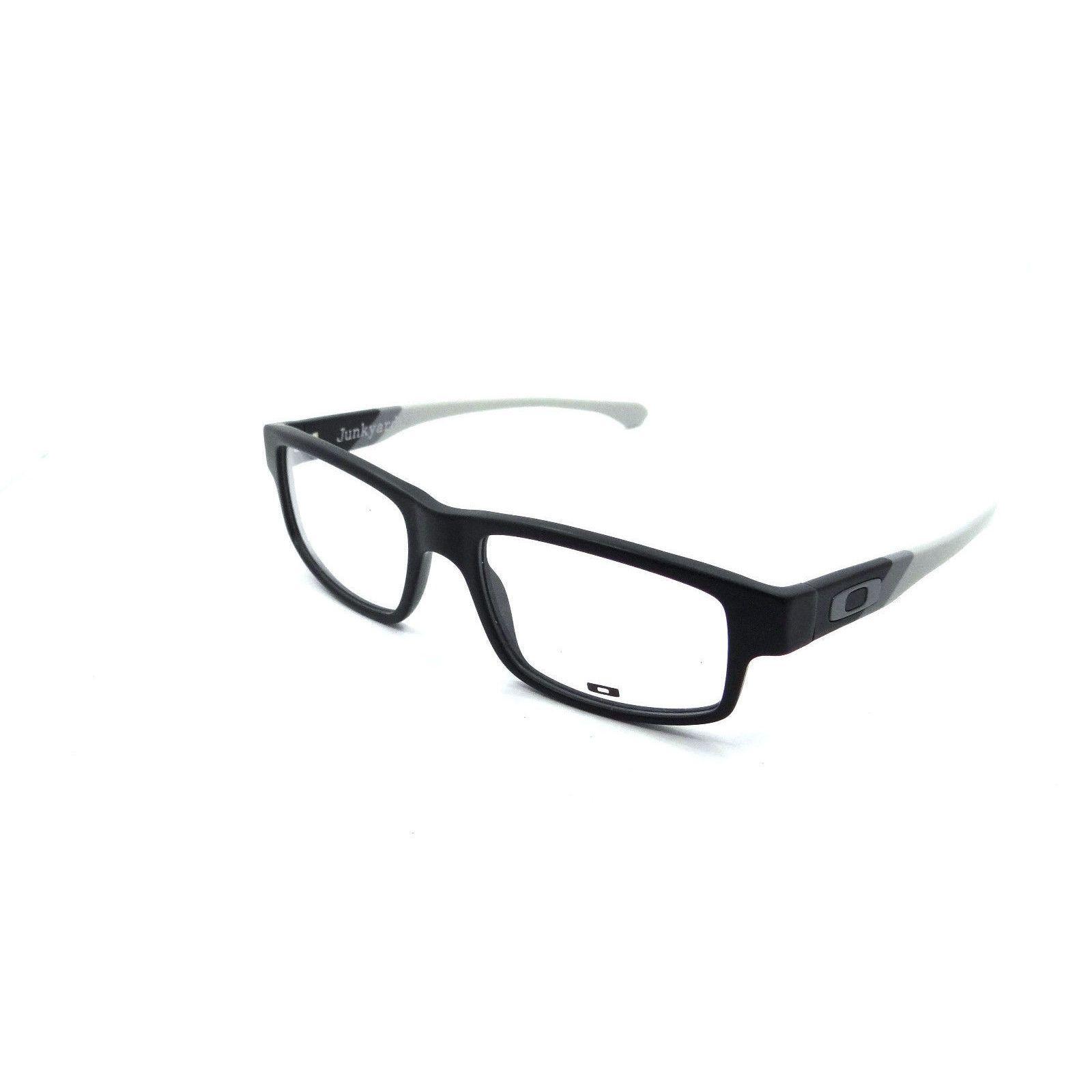Oakley Junkyard OX1097 Eyeglasses Black Grey Frame 53MM by