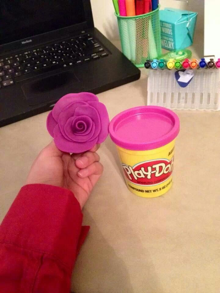 Play-Doh Flowers #motherDOHsbest