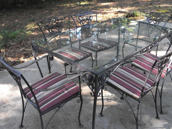 Table And Chair From Craigslist 475 With Images Outdoor