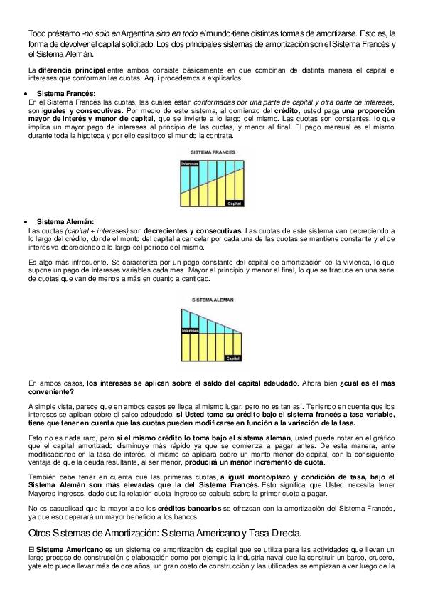 Sistemas De Amortizacion Amortizacion Estados Financieros Tasa De Te