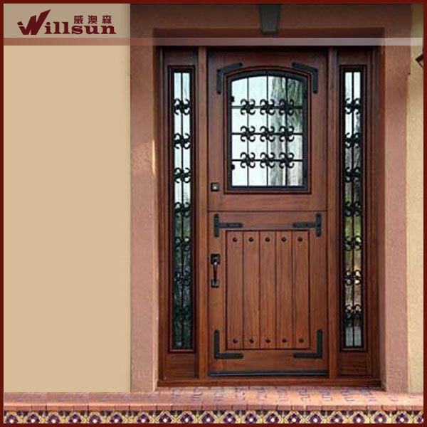 Resultado de imagen para adornos de hierro forjado para for Puertas de metal con vidrio modernas