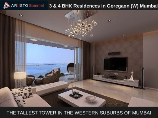 Luxury Projects In Mumbai In Goregaon West Ariistosommet Com Ariisto Sommet
