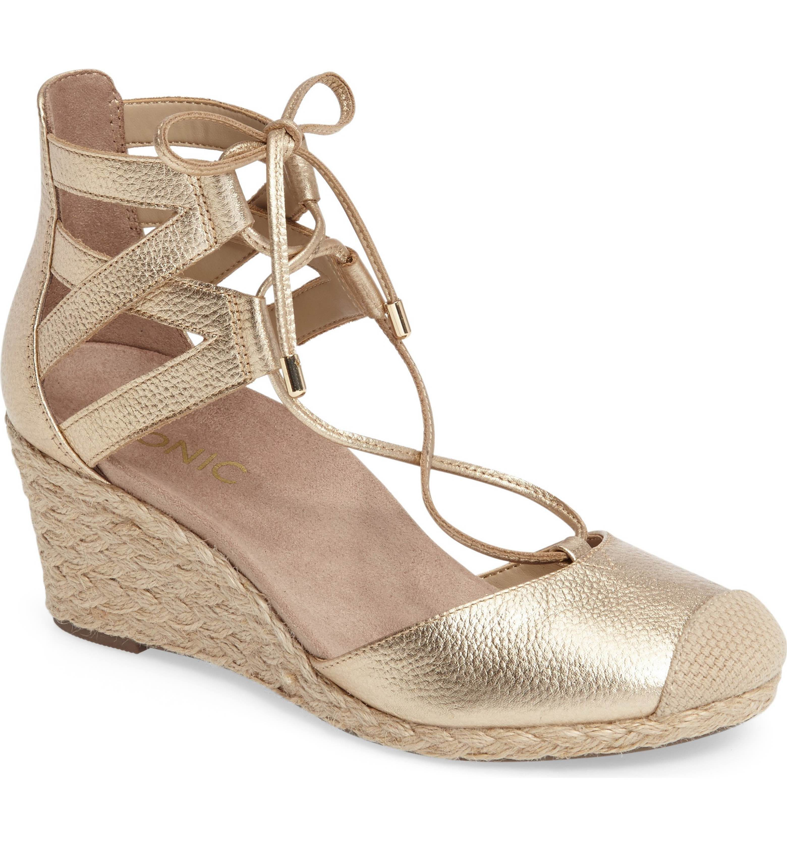 08523a7ceec Main Image - Vionic Calypso Wedge Sandal (Women)