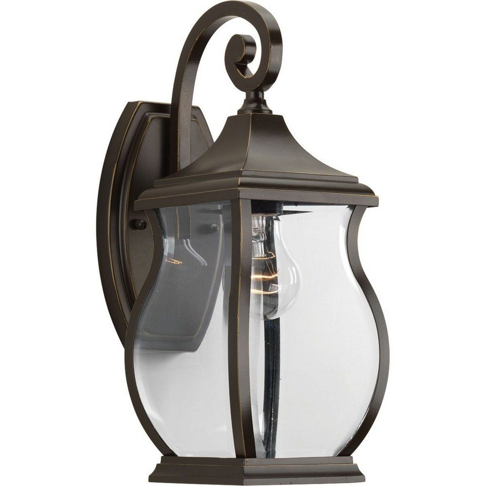 Lunawarehouse township one light small outdoor wall lantern