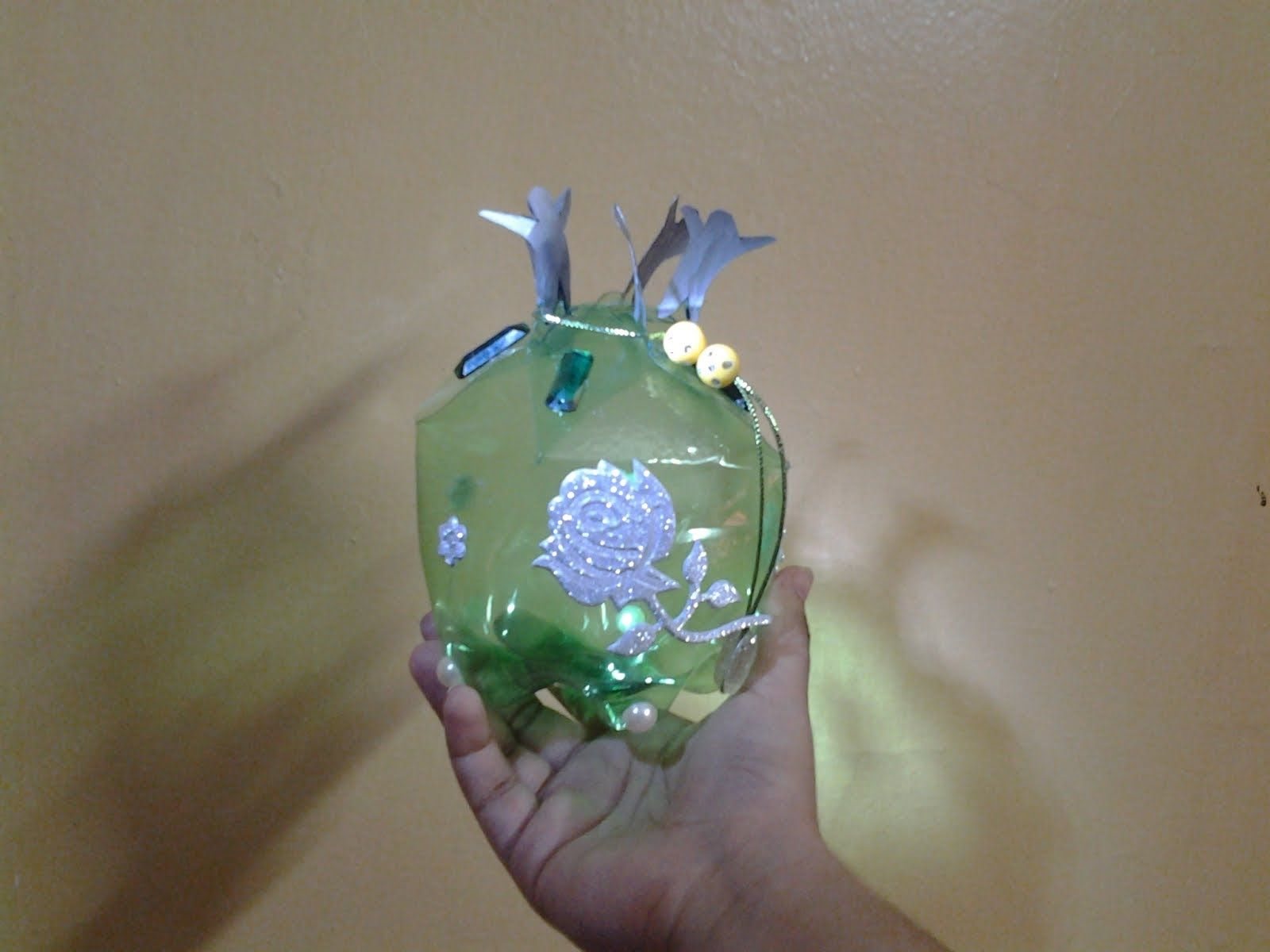 Best out of waste plastic bottle transformed to unity gift for Craft using waste bottles