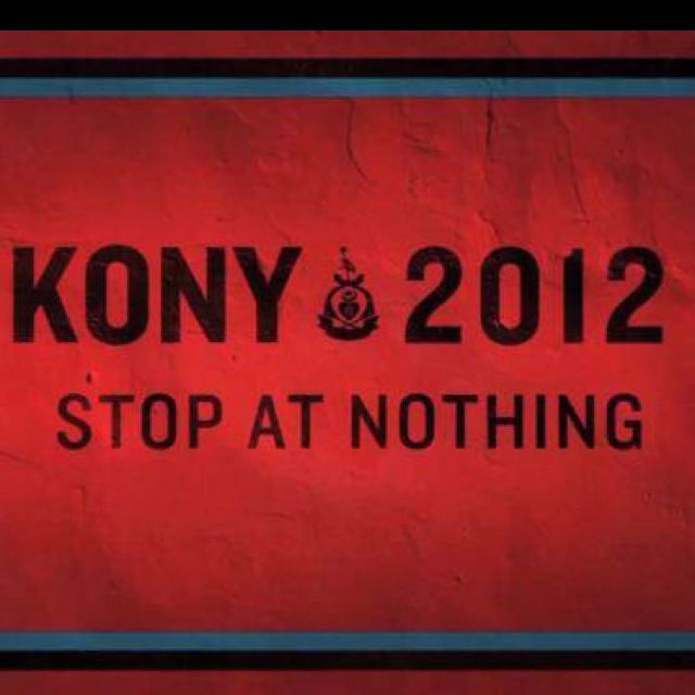 Koney2012. Let's make a difference and stop this.(: