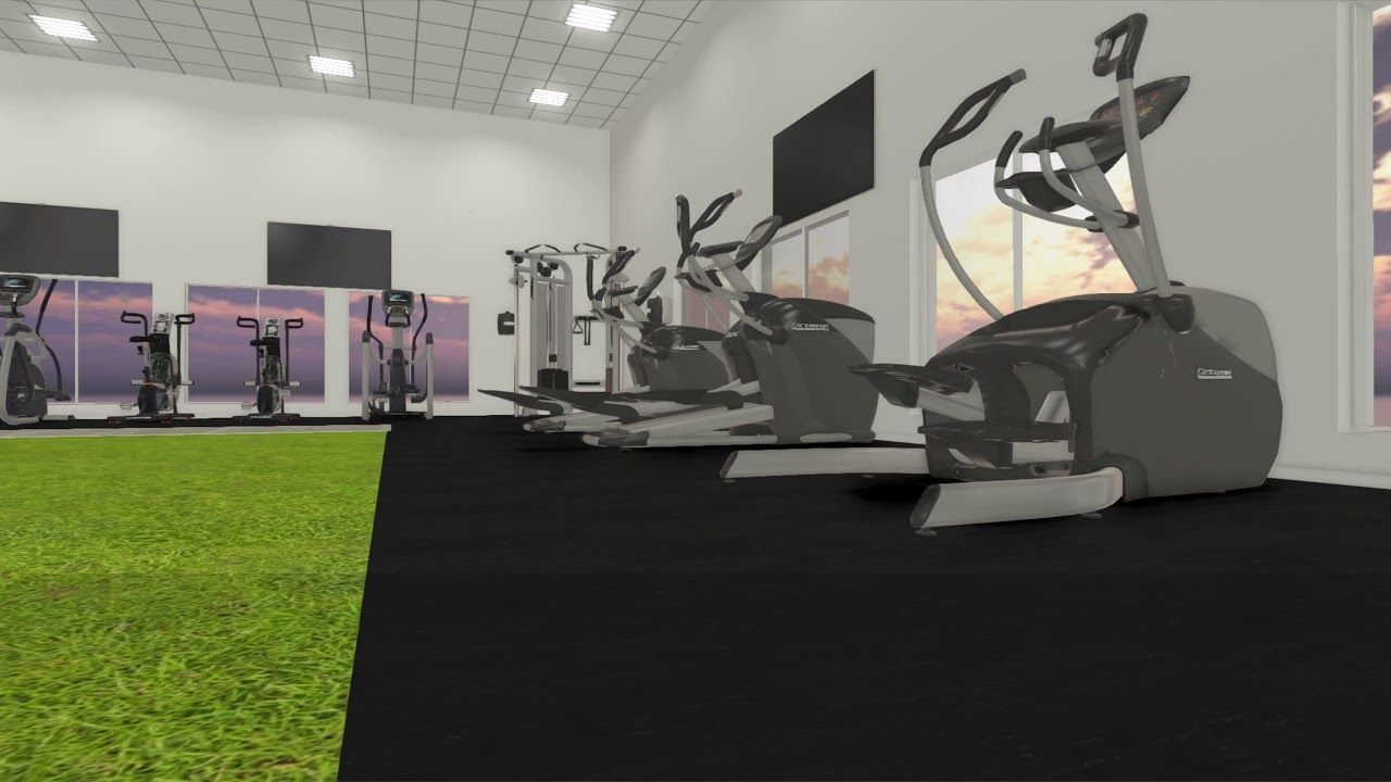 Tank Zone Functional Training And Cardio Concept Functional Training Gym Design Cardio