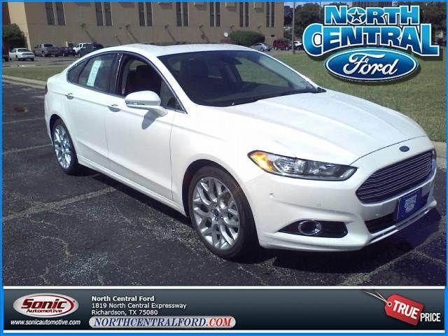 2013 Ford Fusion Titanium For Sale Near Dallas Richardson Tx Now