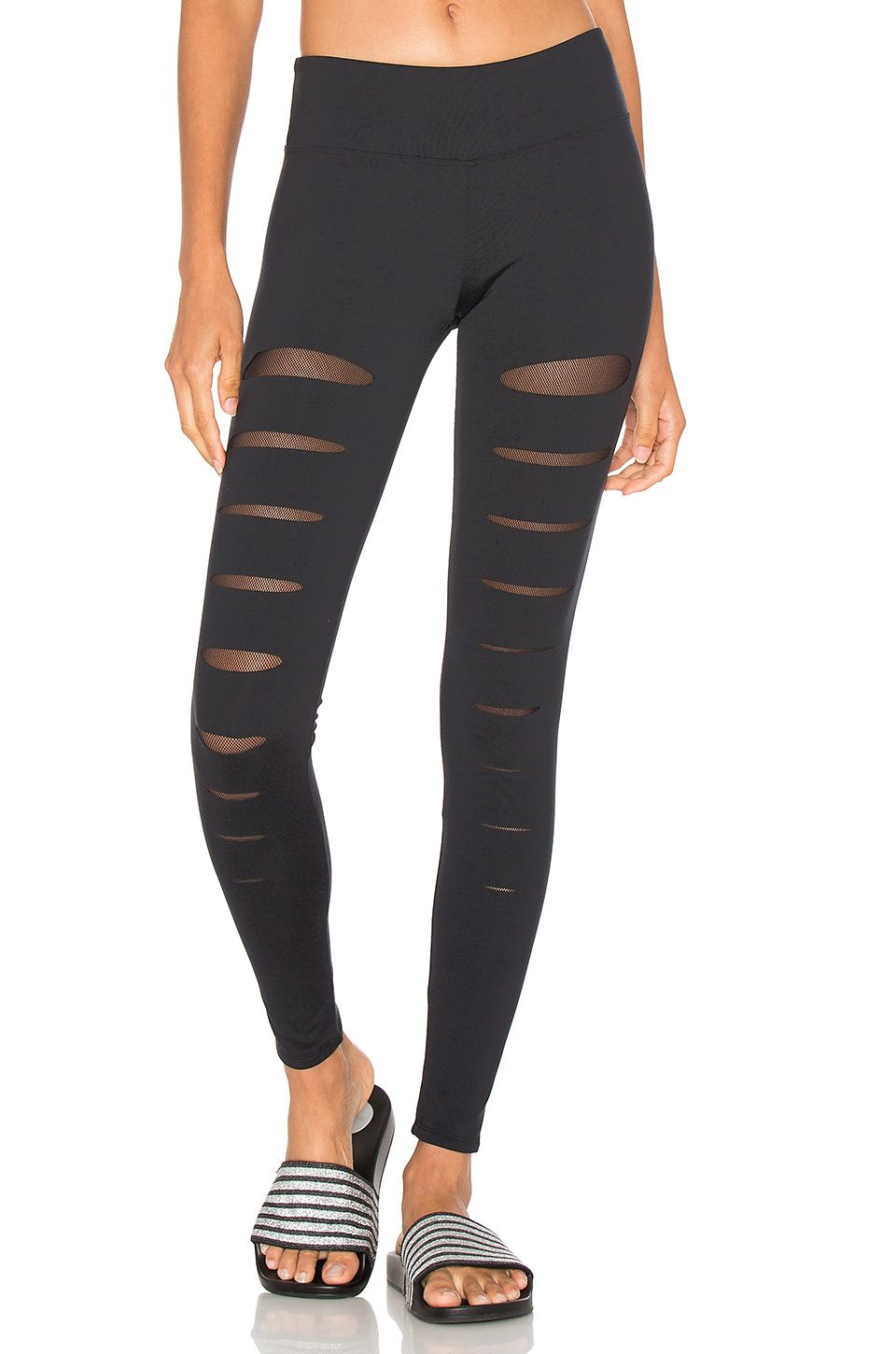 820cedfd9a SOLOW Incise Legging in Black | REVOLVE | Workout Clothes ...