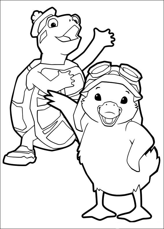 wonder pets coloring pages Wonder Pets Coloring Pages 38 | Coloring pages for kids  wonder pets coloring pages