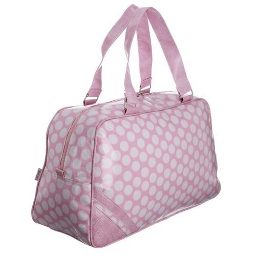 Pretty Pink Polka Dot Overnight / Weekend Bag by Lulu Australia ...