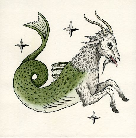 Image result for capricorn sea goat