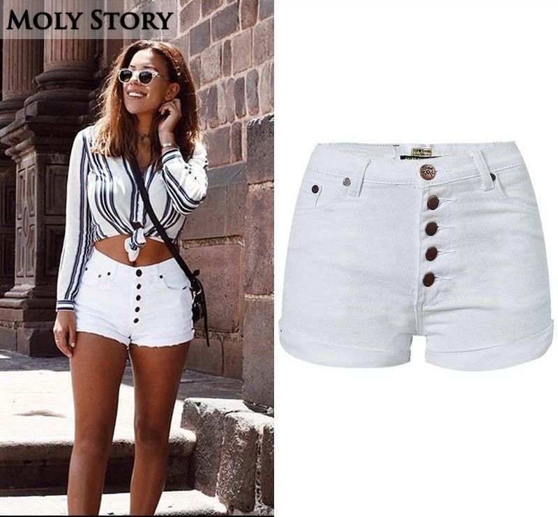 Sincere Ripped Hole Fringe Denim Shorts Women Casual Pocket Jeans Shorts 2019 Summer Female Wide Leg Hot Shorts Button Attractive Designs; Bottoms Jeans