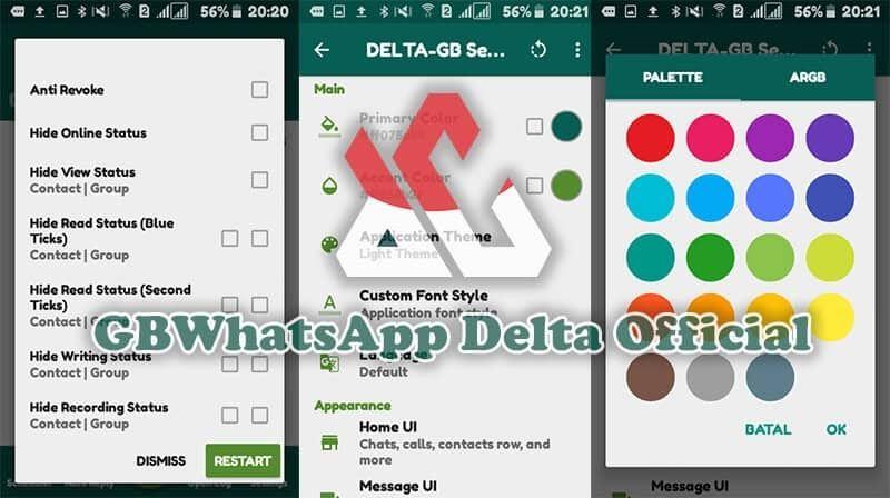 Gambar Aplikasi Whatsapp Plus Mod Apk