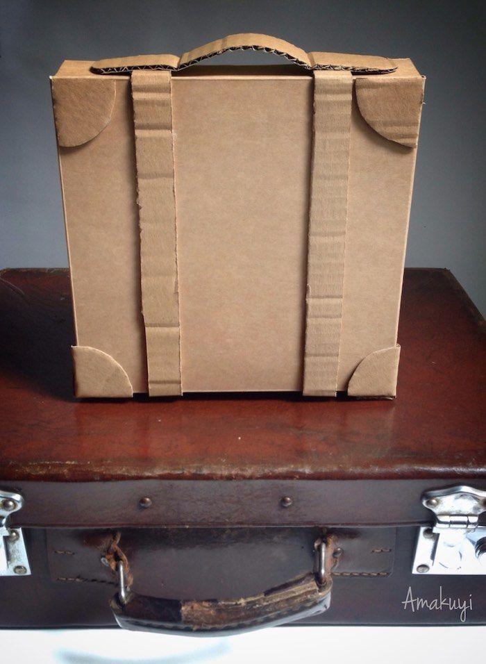 6ee34e5b4 Maleta de cartón para un packaging viajero | labores del hogar ...