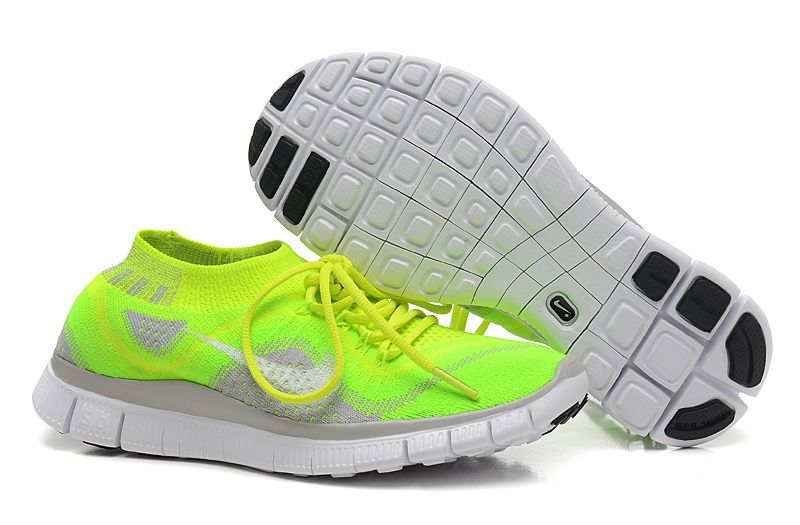 new product d625e 89336 Buy Official Nike Free Flyknit Rainbow Womens Running Trainers Shoes Deals  Couples Shoes Green White Kelly Guarantee from Reliable Official Nike Free  ...