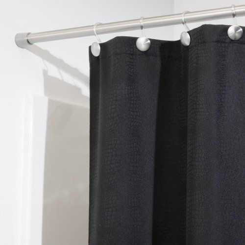 Interdesign Forma Shower Curtain Tension Rod Brushed Stainless