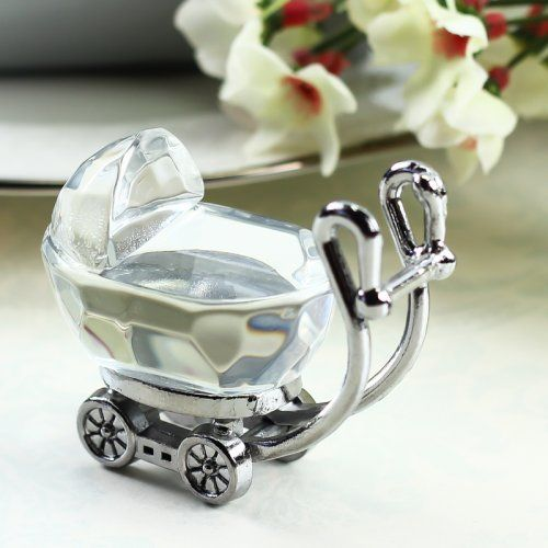 Crystal Train Set Figurine with Carriage,Baby Christening Christmas Gift Ideas
