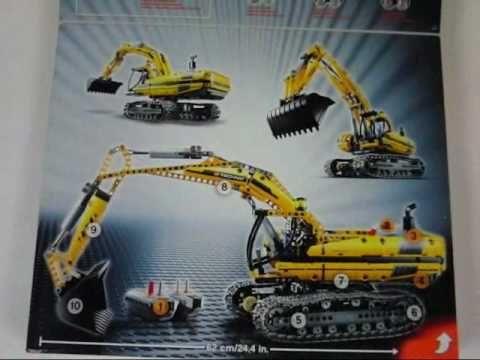 Lego 8043 Motorized Excavator set - One of the best sets not ...