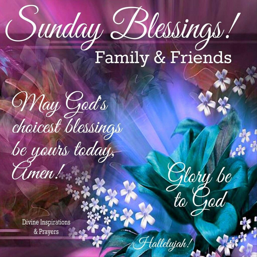 Sunday Blessings! good morning sunday sunday quotes blessed ...
