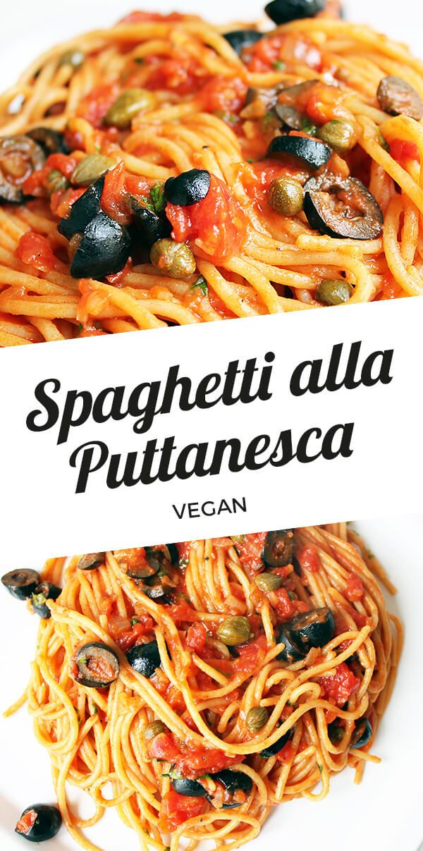 Vegane Spaghetti alla Puttanesca | Cheap And Cheerful Cooking #oliveoils