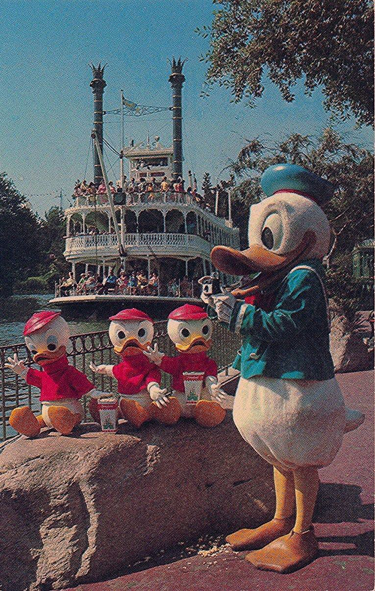 Photo of Vintage Disneyland Postcards: Frontierland | Atomic Redhead