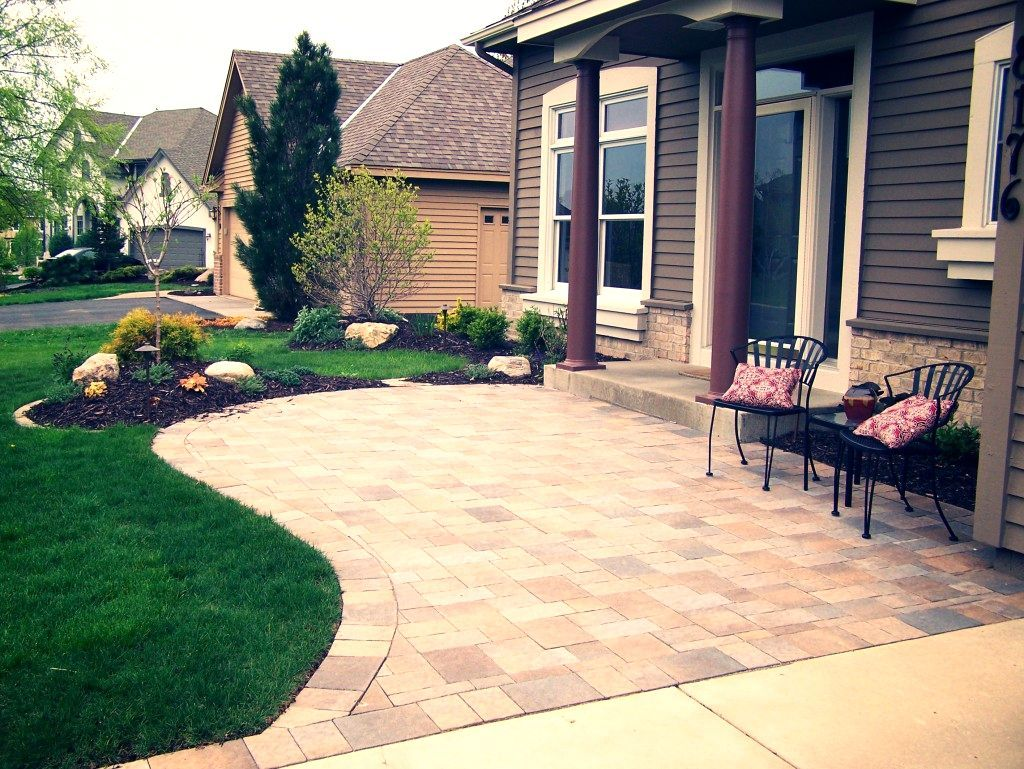 Landscaping Ideas For Front Yard Sitting Area The Garden