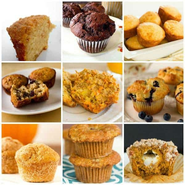 Top 10 List Best Muffin Recipes is part of Best recipes Top 10 - A collection of the best muffin recipes on Brown Eyed Baker  sweet, savory, healthy and indulgent  something for everyone!