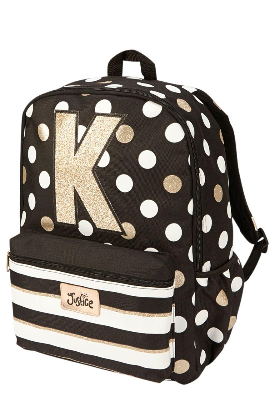 ceeb6539fcae Initial Polka Dot Backpack (original price