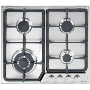 Verona 24 Inch Stainless Steel Gas Cooktop Vegct424fss By Verona 519 00 24 Wide Deluxe Gas Cooktop With Front Control 4 Bur Gas Cooktop Cooktop Iron Grate