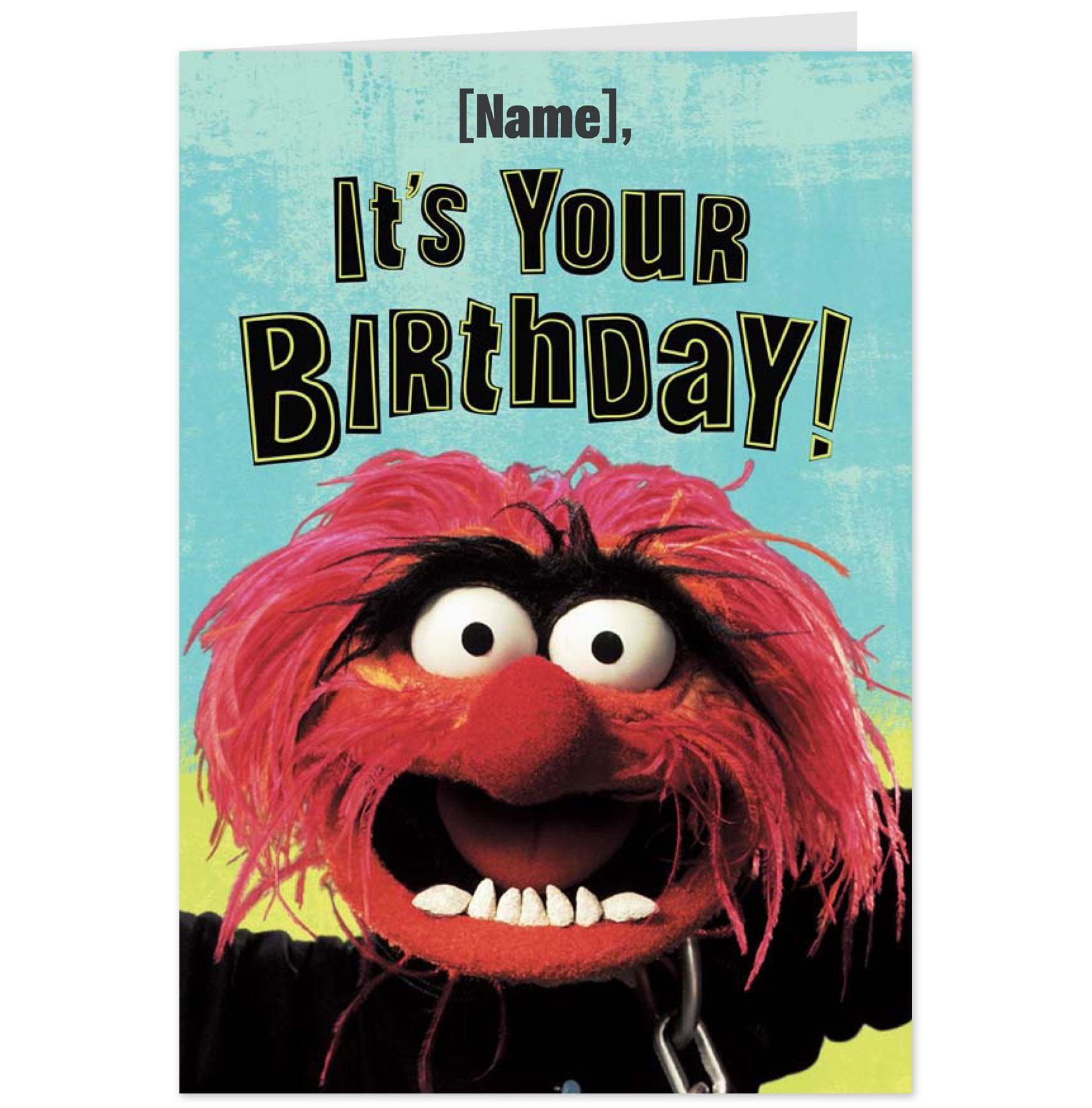 Shop – Muppet Birthday Card