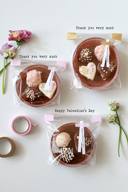 100均のタルト型をバレンタインのラッピングに ラッピング アイデア お菓子 生チョコ ラッピング ケーキの包装