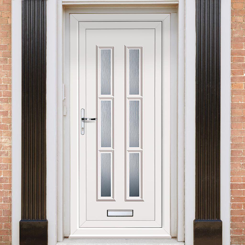 Exterior Lyon Six Upvc Door Pvc Front Doors Entrance Doors Pvc Front Doors Upvc