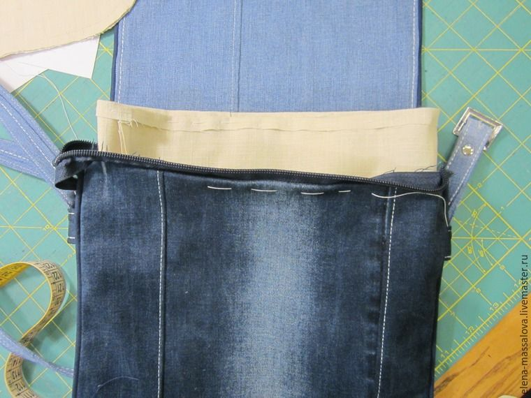 c03c68d63d Bag of Old Jeans. Photo Sewing Tutorial.