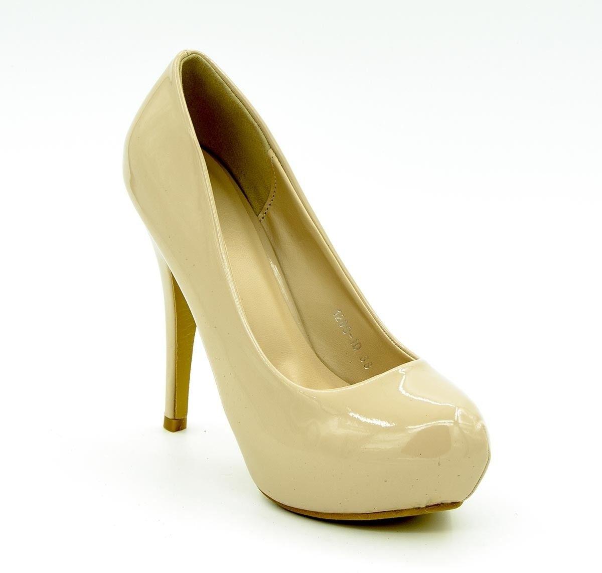b8d6161ee87f Belle Gambe Heels - Buy Beige Color Belle Gambe Heels Online at Best Price  - Shop Online for Footwears in India