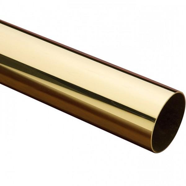 1 Dia X 050 Wall Polished Brass Tubing Trade Diversified In 2020 Polished Brass Stainless Steel Tubing Brass