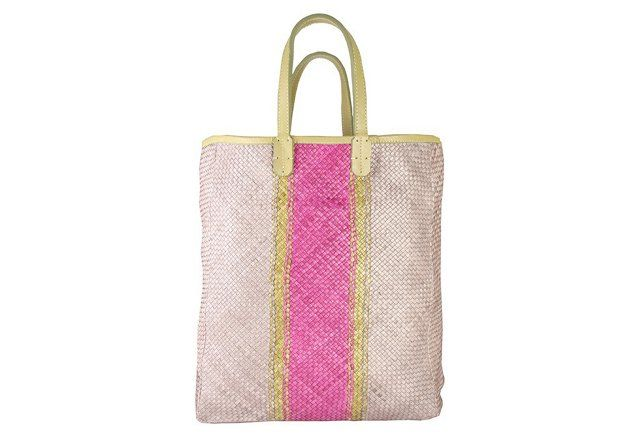 Ribbons Shopper, Bougainvillea