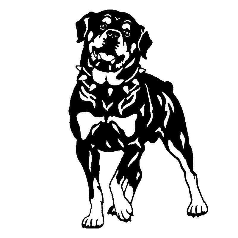 Item Width 17cm Item Height 26 2cm Material Type Vinyl Color Black Silver Hund Clipart Hunde Rottweiler