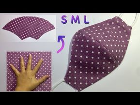 SPECIAL: Make masks WITHOUT RULER - It only takes