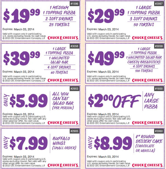 Chuck E Cheese Coupons 8211 Printable Coupons For Tokens Food And Free Tickets At Chuck E Cheese 8217 S Free Printable Coupons Chuck E Cheese Coupon Apps