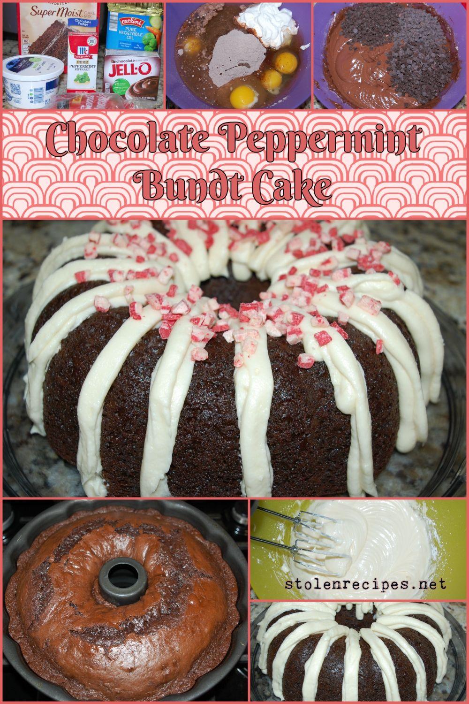 Chocolate peppermint bundt cake recipe chocolate cake
