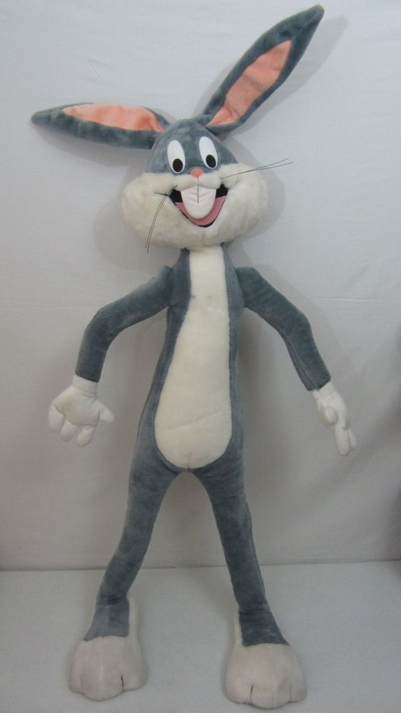 Warner Bros Bugs Bunny Huge 5ft Tall Plush Stuffed Animal