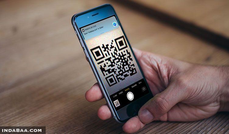 iphone camera qr code