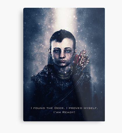 God of War - Atreus Metal Print | Displate thumbnail
