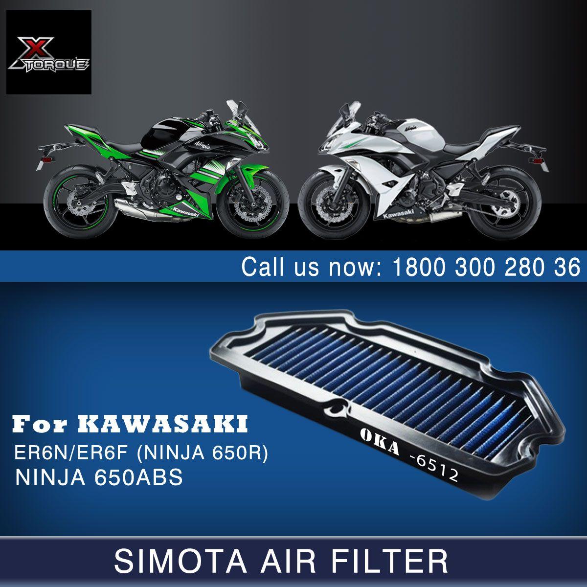 Simota Air Filters for Kawasaki OKA6512 ER6N/ER6F (NINJA