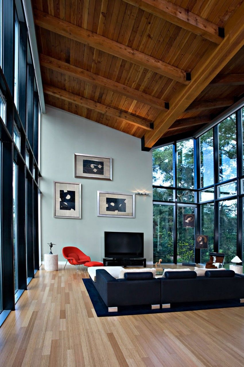 Residence on White Trout Lake by Alfonso Architects