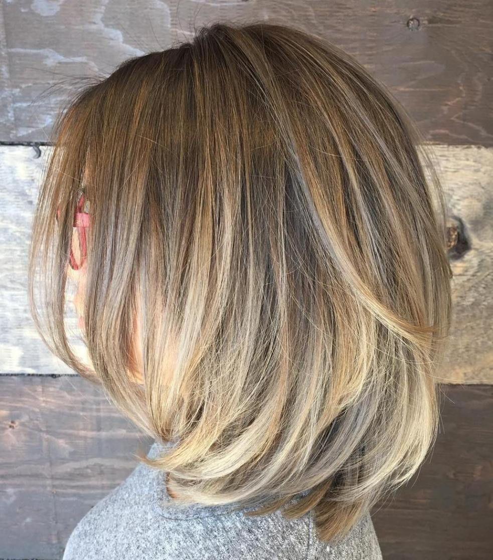 sensational medium length haircuts for thick hair medium length