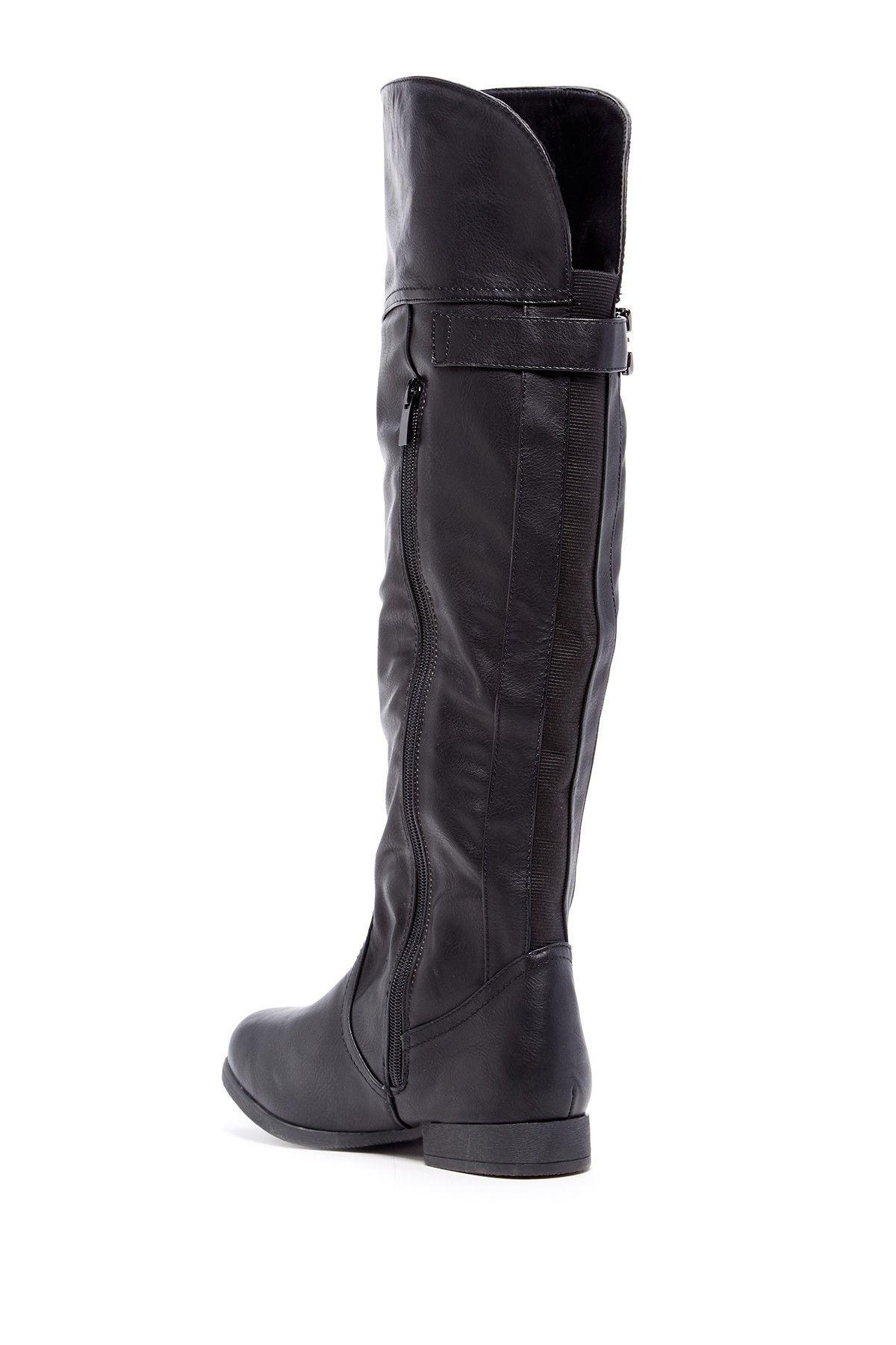 Land Over-the-Knee Boot by Top Guy on @nordstrom_rack