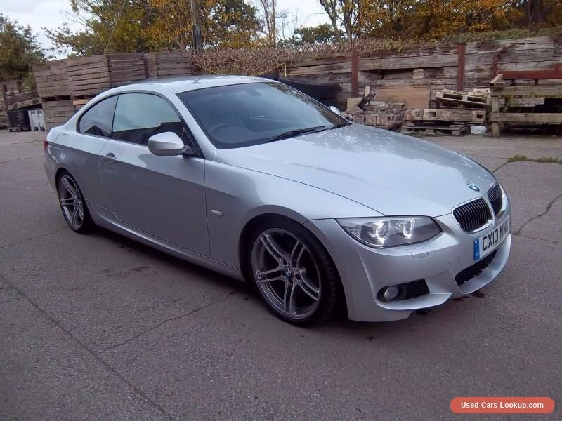 Car For Sale 2013 Bmw 3 Series Diesel Silver Coupe 330d M Sport