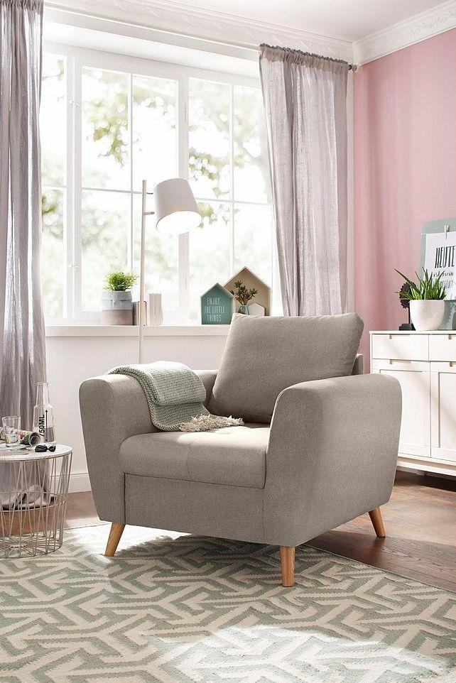Home affaire Sessel »Penelope« mit feiner Steppung im Sitzbereich
